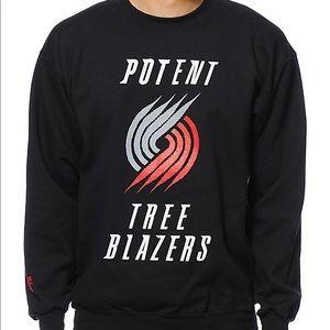 """Cake Face """"Potent Tree Blazers"""" sweatshirt. Men's"""